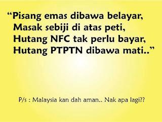Pantun ini mungkin dicipta oleh Datuk Seri Najib Razak