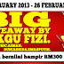 Big Giveaway by Cikgu Fizi, Fizgraphic, EmasPutih, Duniashida & AimanCool