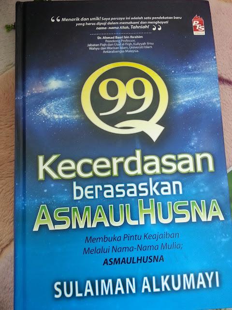 Book Review : 99 Kecerdasan Berasaskan Asmaul Husna