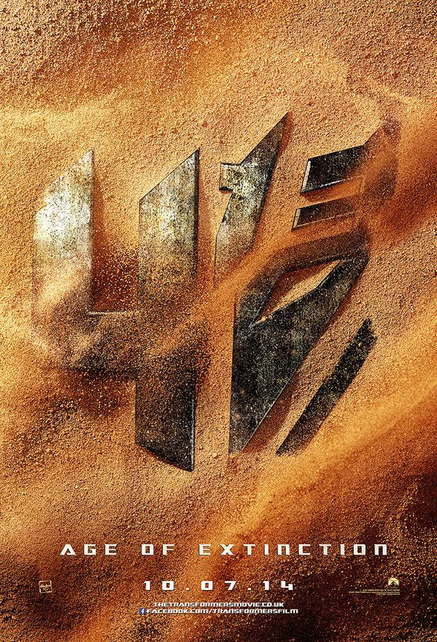 Transformers: Age of Extintion teaser poster