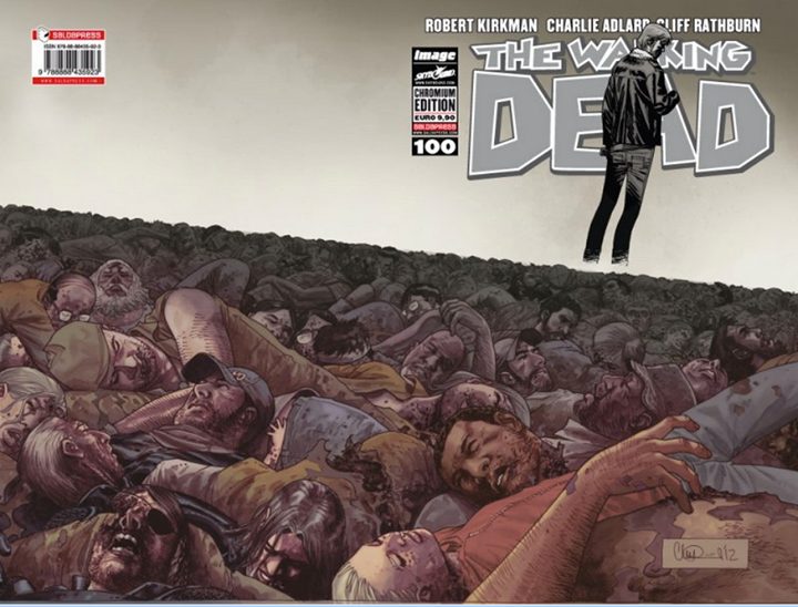 The Walking Dead #100 Chromium Cover