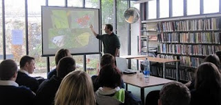 Biodiversity talk at deValera Library
