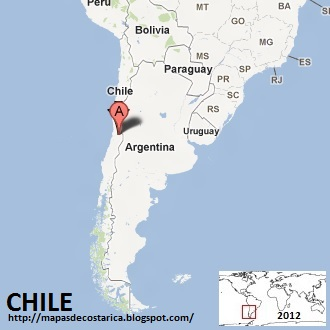 Mapa de CHILE , Google Maps