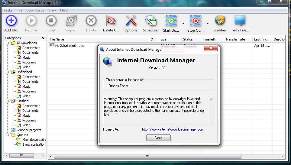 Internet Download Manager 7.1 Free Download Full Version