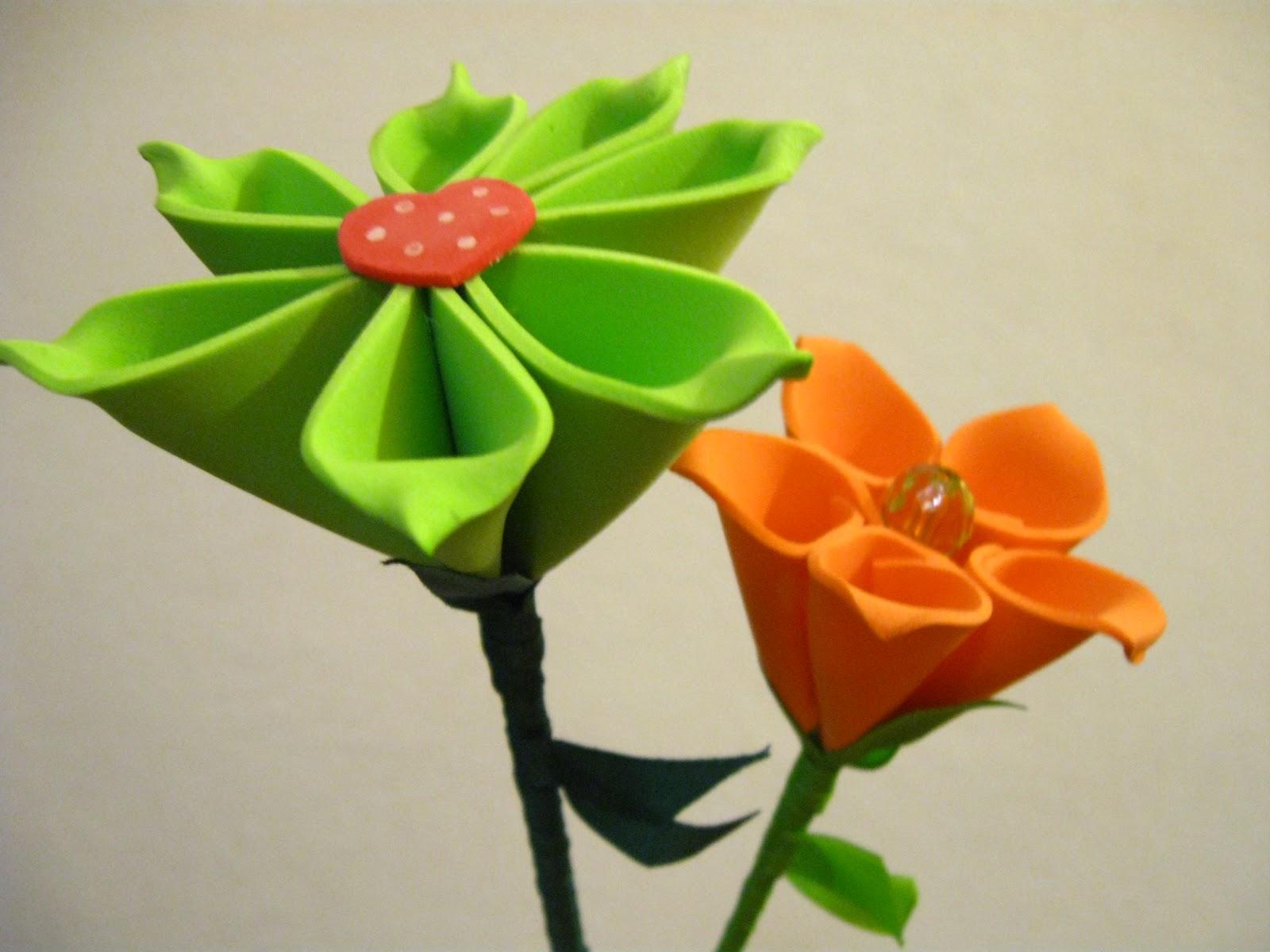 Bonito Flores Goma Eva Infantiles Vieta Ideas de Decoracin de