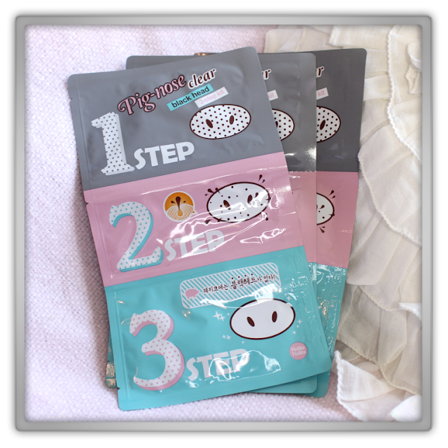 Beautynet Korea haul review beauty Holika Holika Pig Nose Clear Black Head 3 Step Kit