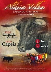 Aldeia Velha(Sabugal)- Capeia do Ano Novo 2015- 1 Janeiro