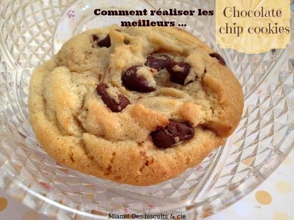 la meilleure recette de cookies moelleux