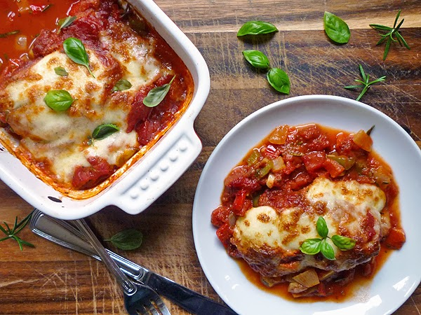 Chicken Mozzarella with Tomatoes Recipe