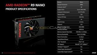 spesifikasi AMD Radeon R9 Nano