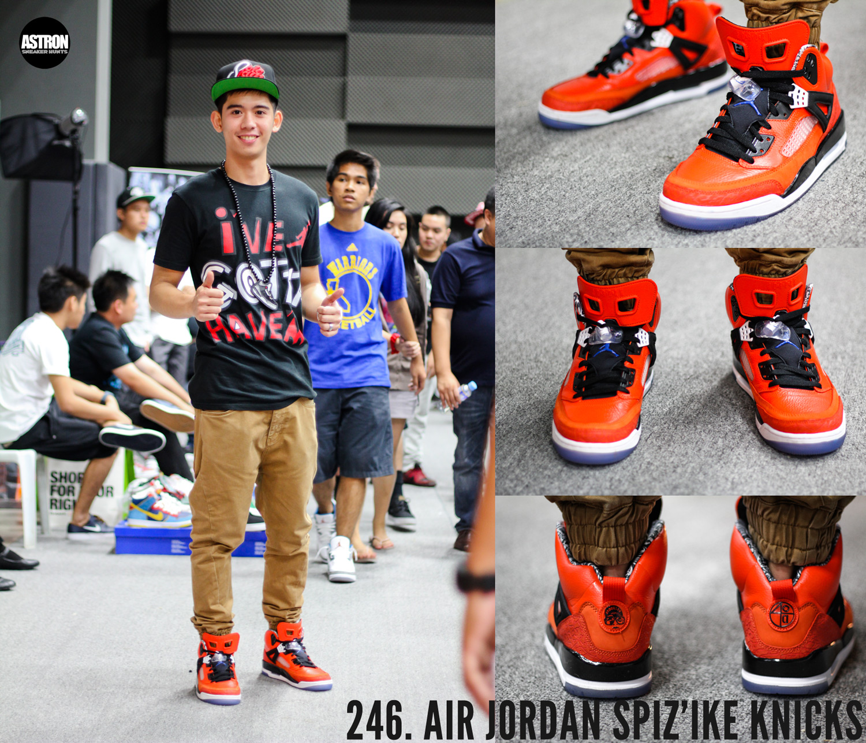 Air Jordan Spiz\u0026#39;ike Knicks \u0026quot;Orange Flash/Blue Ribbon/Black/White\u0026quot;