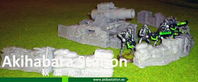 Siege Gun y Barricades (review) [Maxmini.eu]