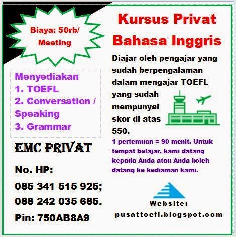 Privat B. Inggris Makassar