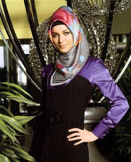 ... bahan yang dibutuhkan untuk memakai jilbab turki (turkish style hijab