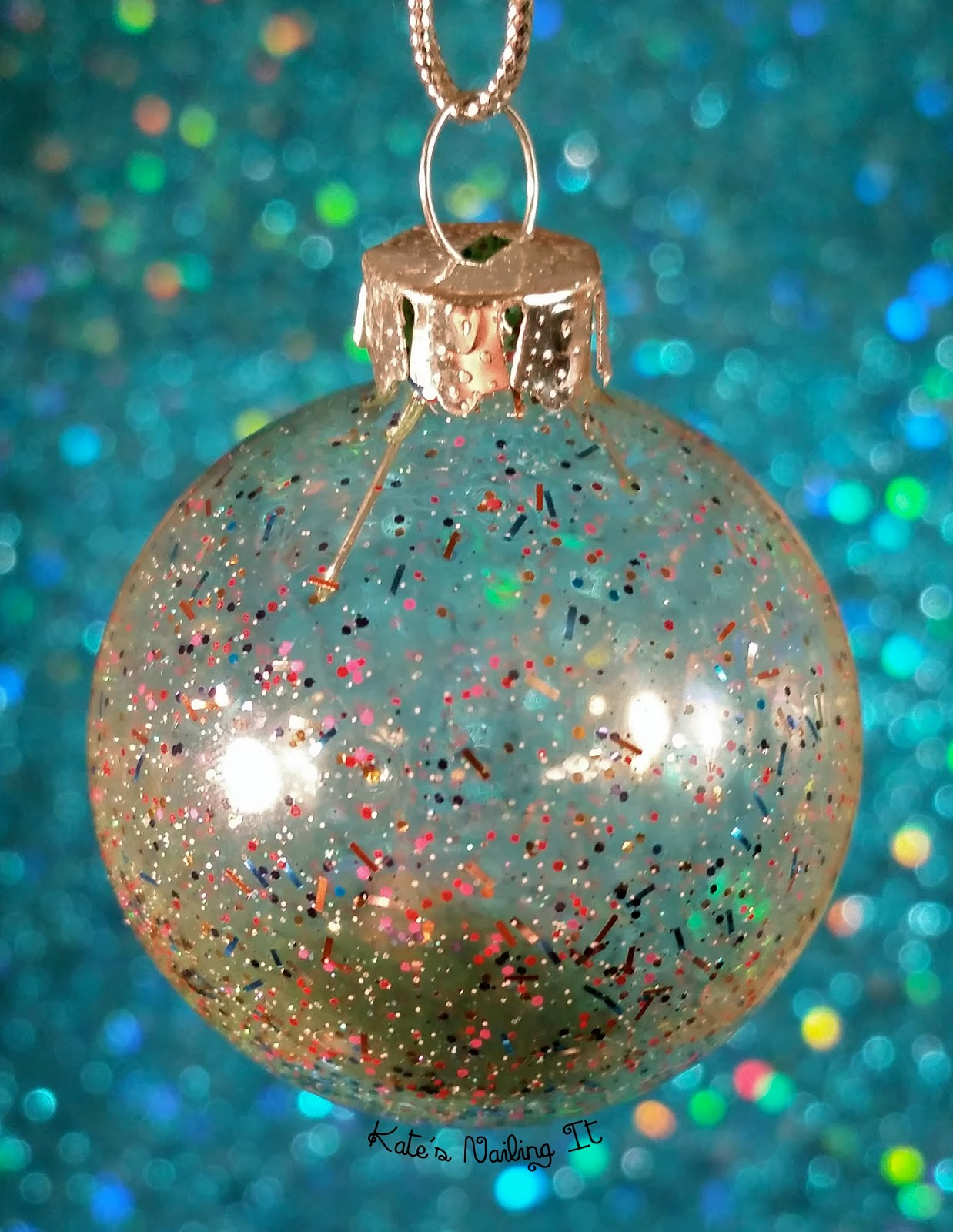 Kate\'s Nailing It: Christmas Crafting: Nail Polish Ornaments