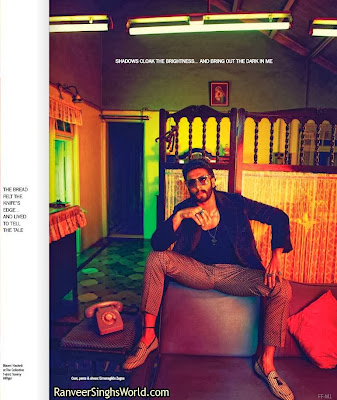 Ranveer singh on Filmfare Magazine Scans
