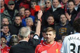 Kartu Merah Steven Gerrard