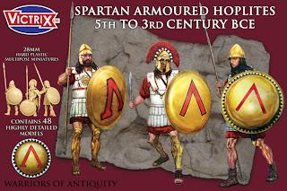 Victrix Spartan Armoured Hoplites