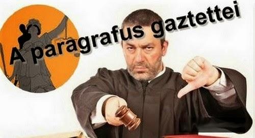 """Szeszák Gyula """"igazságügyi"""" blogja"""