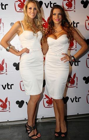 Luciana Suárez y Yanina Filocamo vestidas de blanco