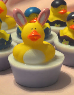 Easter Duckie Soaps