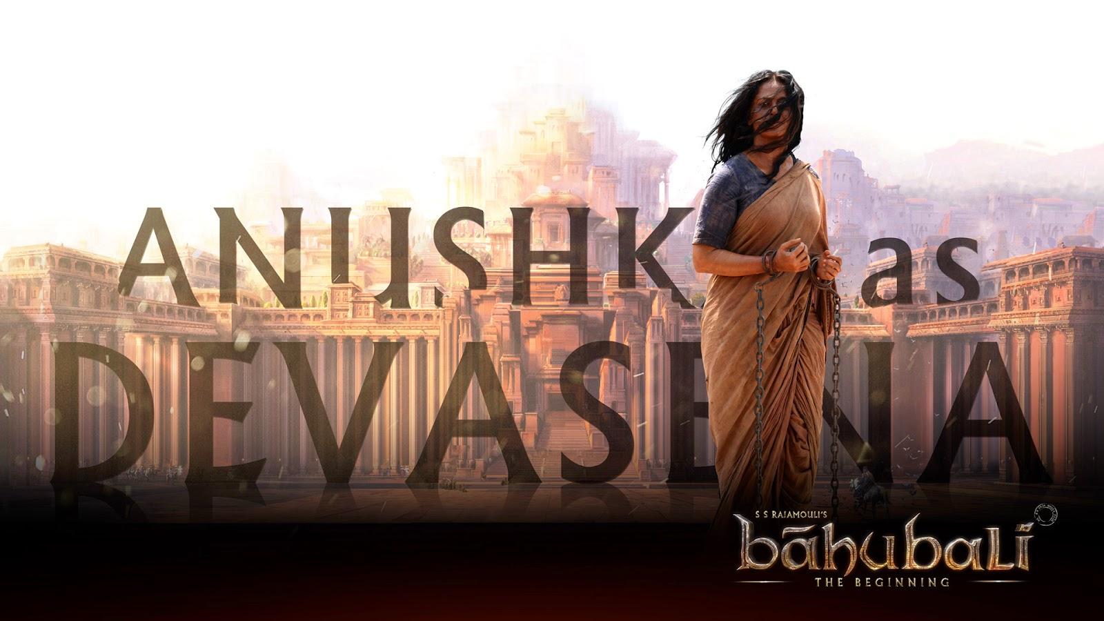 Anushka Baahubali Devasena HD Posters Telugu,Tamil, Hindi & Malayalam