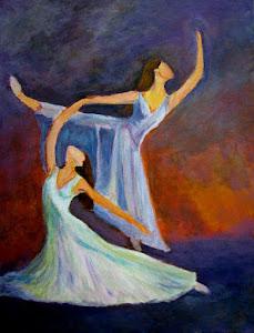La danza del fuego  Acrylic 16x20