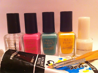 barry m nail polishes