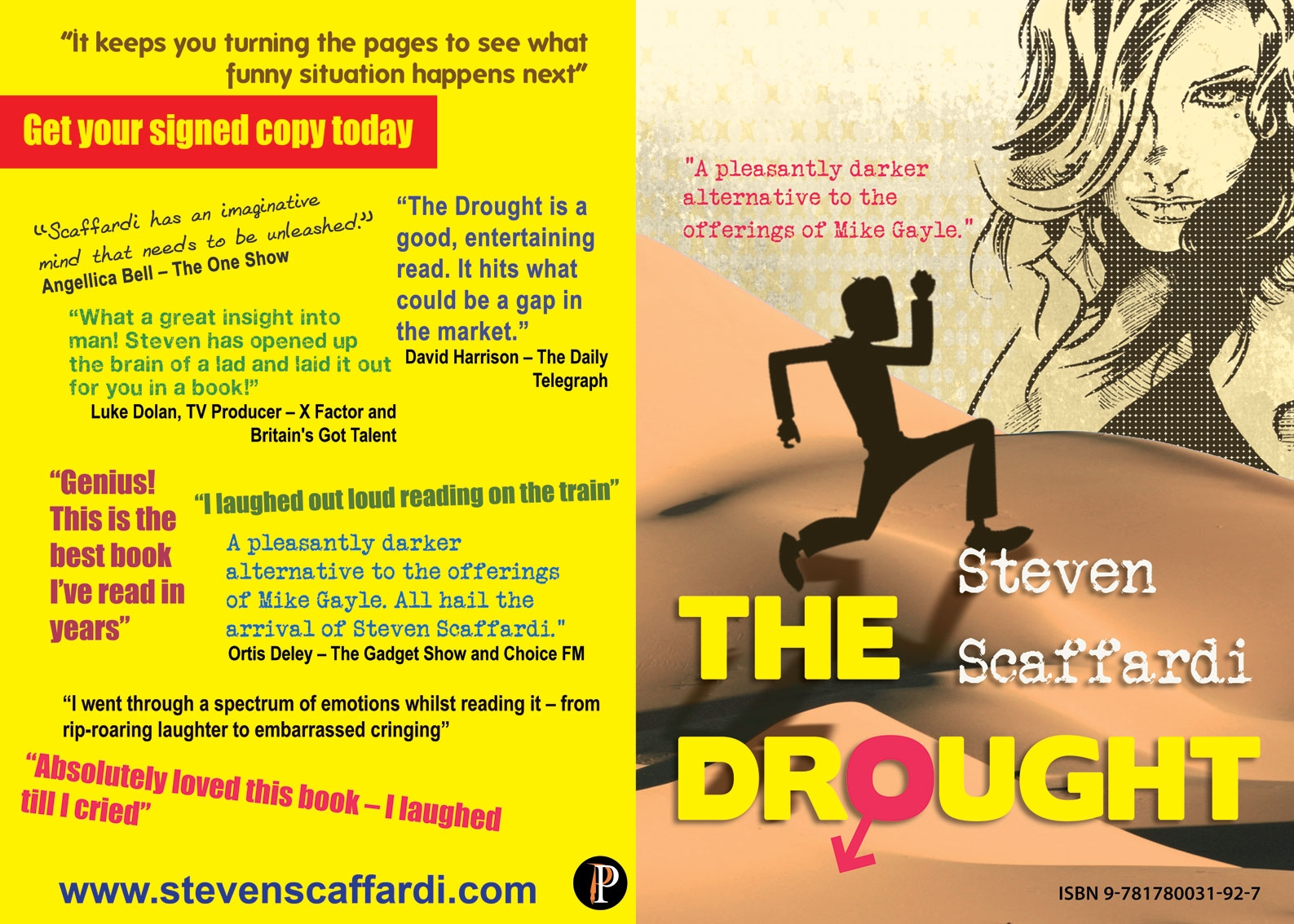 The Drought, Steven Scaffardi, Lad Lit, Chick Lit For Men, Reviews,