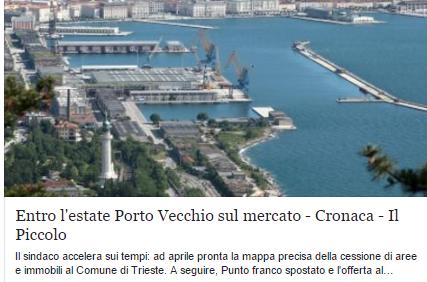 """BASTA FAKE NEWS ! /2 """"ENTRO L' ESTATE (2015) PORTO VECCHIO SUL MERCATO !"""""""