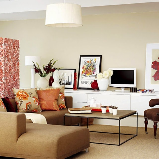 Small living room decorating ideas for apartments for Small apartment living room design