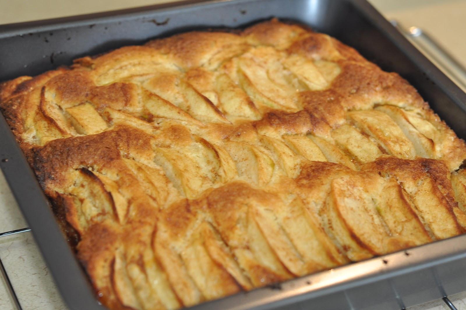 Authentic German Apple Cake Recipe