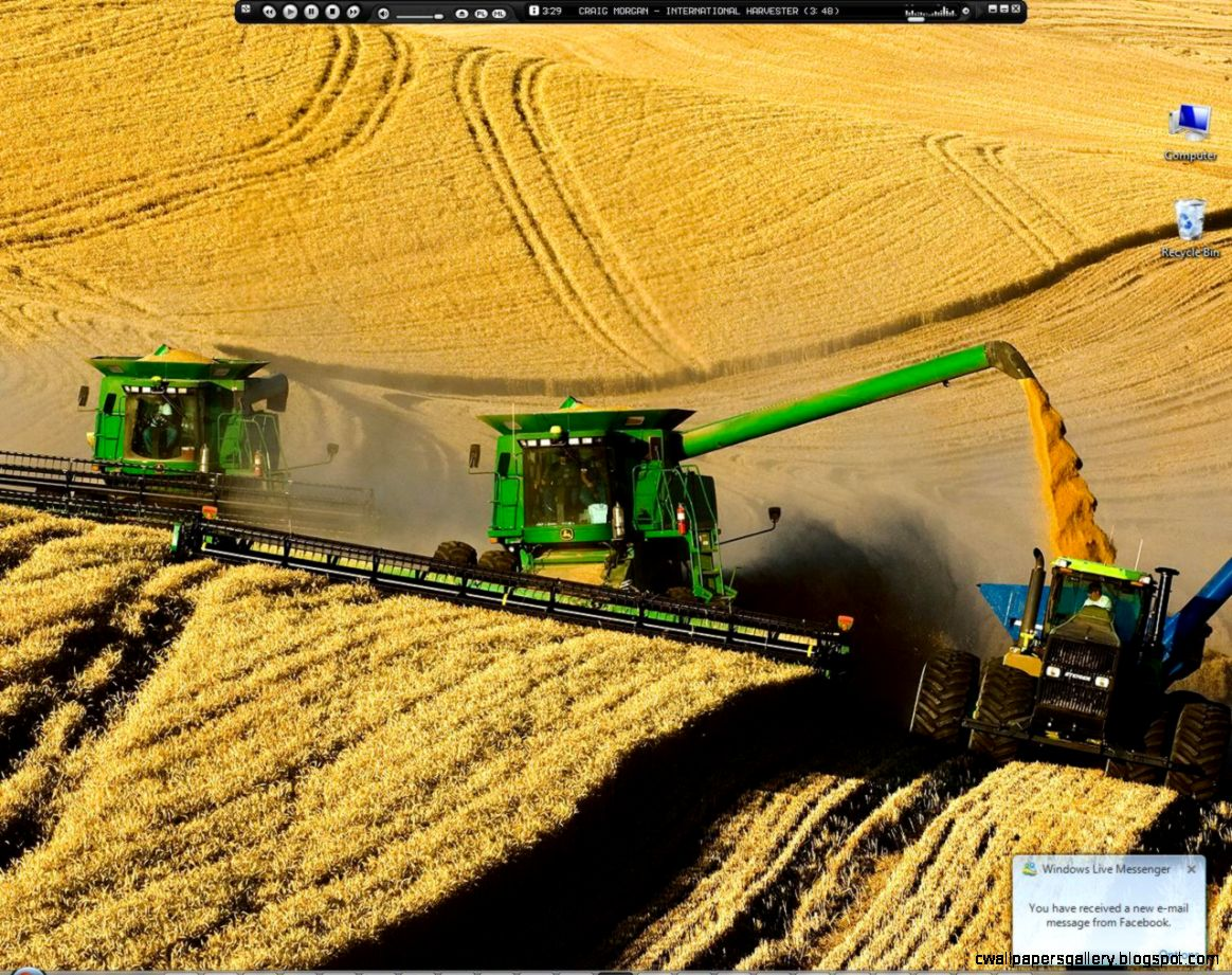 Wallpapers Johndeere John Deere Combine 1280x1024  414995 johndeere