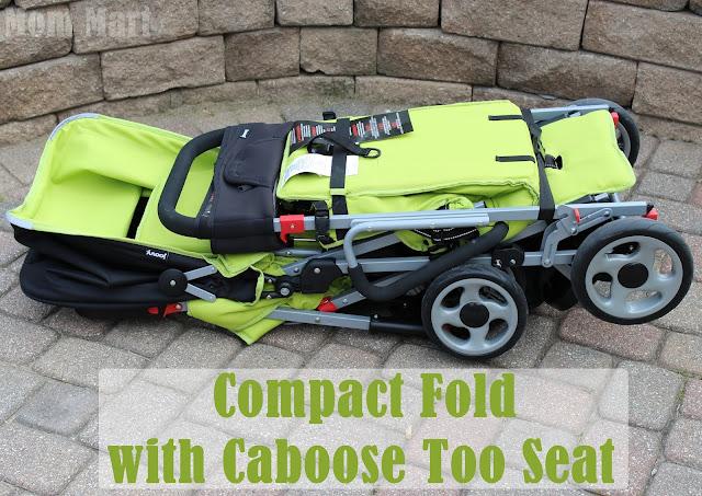Joovy Caboose Too Ultralight Stroller Compact Fold