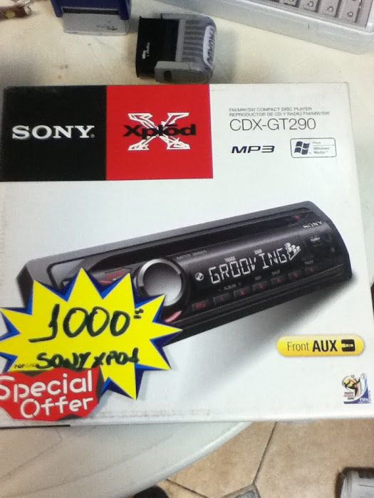 REPRODUCTOR SONY MP3, 1000BS