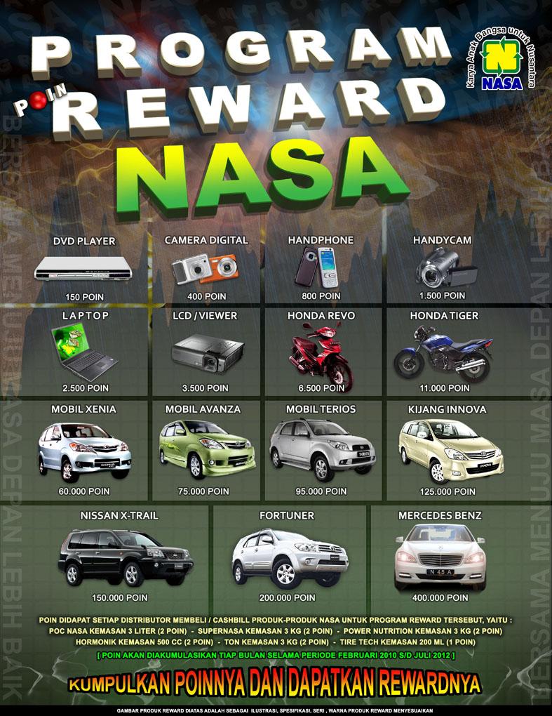 PROGRAM POIN REWARD NASA 2018