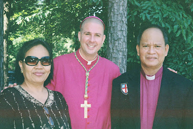 Eros Belmonte, Right Rev.Chandler Jones, SSC and Most Rev. Frederick Luis M.Belmonte