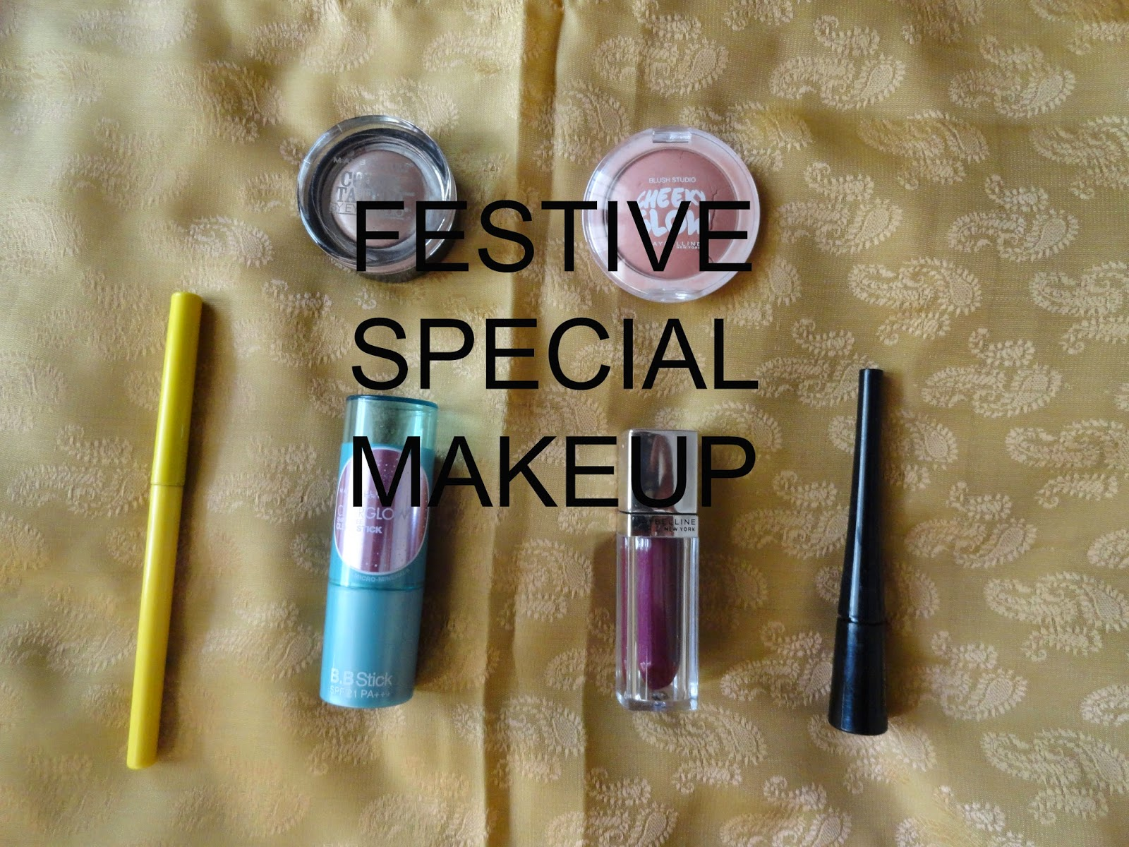 Maybelline products for this festive season image