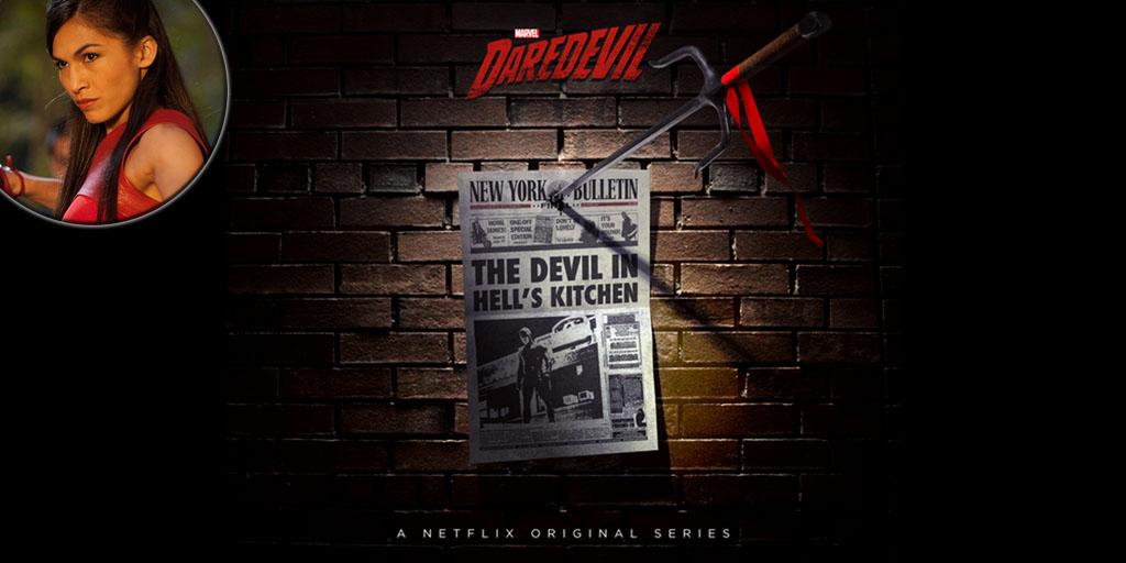 Elodie Young será Elektra en la segunda temporada del Daredevil de Netflix