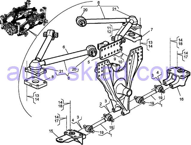 лучевая тяга Renault Kerax DXI11