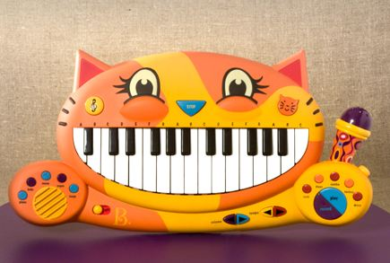 Cat Piano Toy Songs
