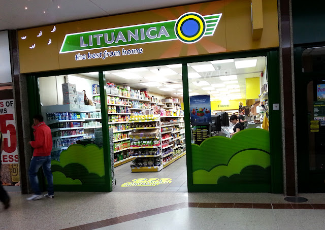литовский магазин в лондоне