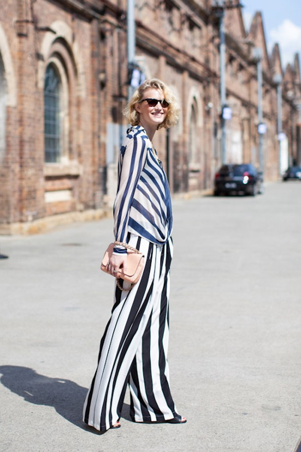 The Well Appointed Catwalk Stars Stripes Street Style
