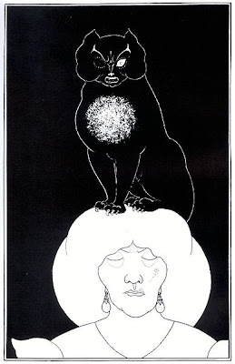 Edgar Allan Poe Aubrey Beardsley the Black Cat Instinct vs Reason