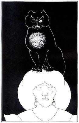 Edgar Allan Poe Aubrey Beardsley the Black Cat Instinct vs Reason