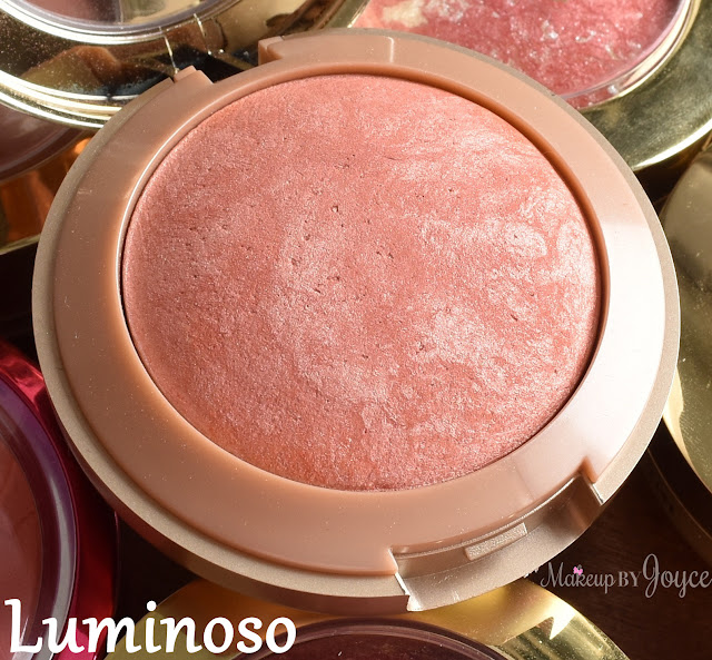 Milani Baked Blush Luminoso Swatch
