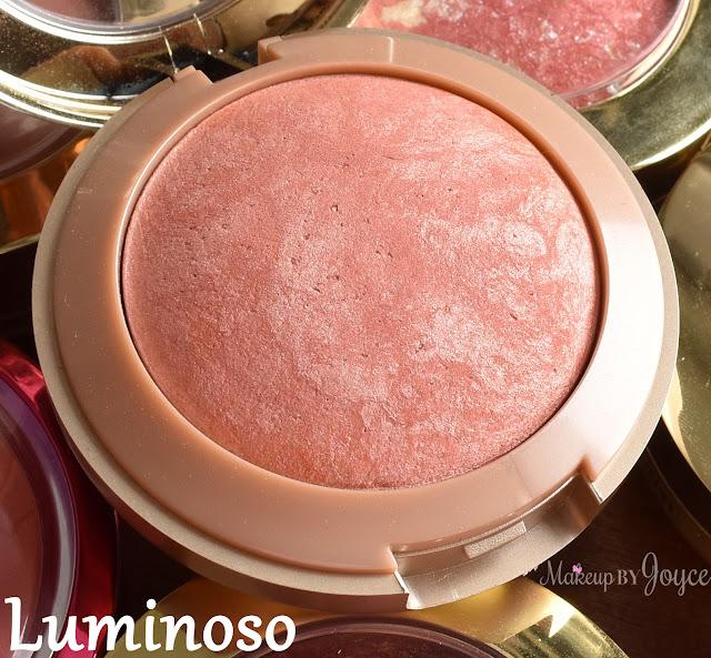 Milani Baked Blush Luminoso Swatch
