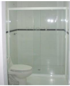 puerta de baño corrediza cristal transparente puerta de baño ...