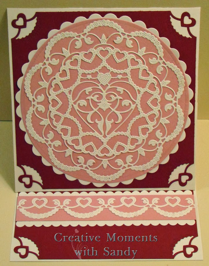 Corner Border Design Heart Creative Moments With Sandy Sophia 39 s Heart Doily Border And Corner