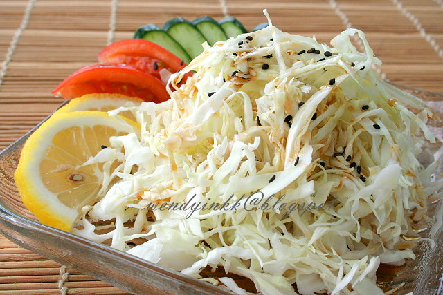 How to make a Japanese salad